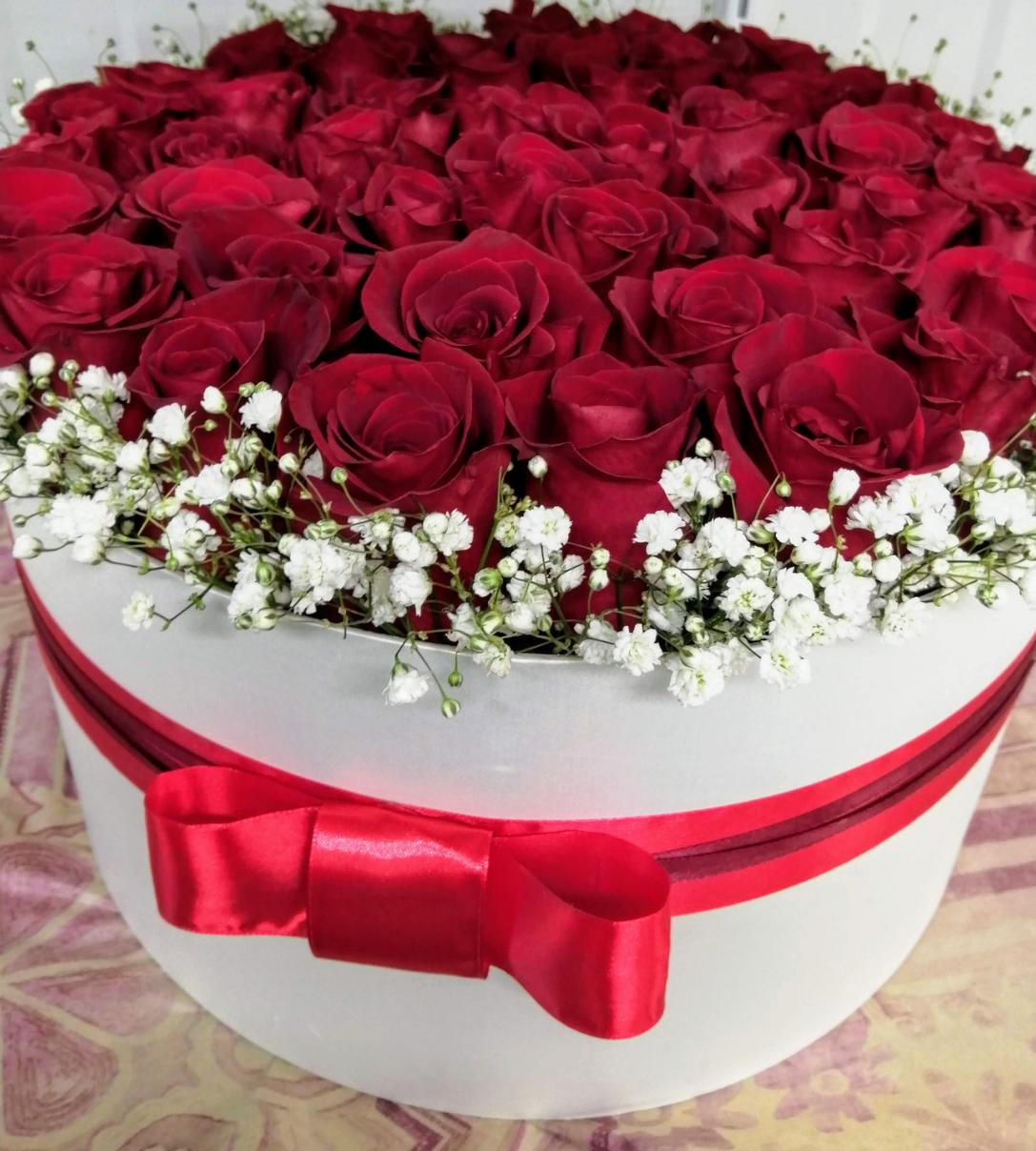 Box ruží